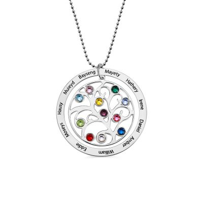 Sterling Silver 925 Circle
